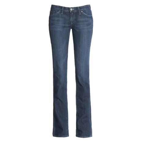 Agave Nectar Paraiso Denim Jeans - Slim Fit, Straight Leg (For Women) in Indigo