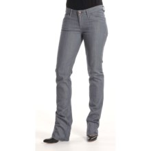 Agave Nectar Paraiso Gunmetal Jeans - Stretch, Slim Fit (For Women) in Grey - Closeouts