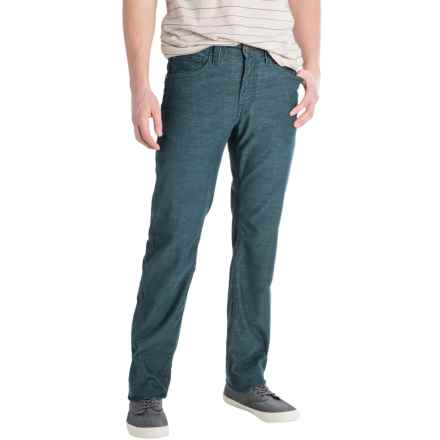 Agave No. 11 Corduroy Pants - Classic Fit, Straight Leg (For Men) in Navy - Closeouts