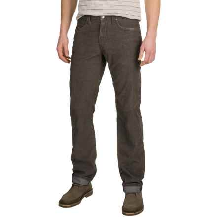 Agave No. 11 Corduroy Pants - Classic Fit, Straight Leg (For Men) in Turkish Coffee - Closeouts