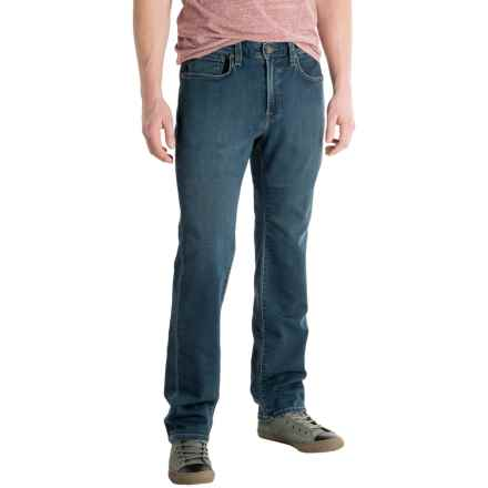 Agave No. 12 Athletic Fit Straight-Leg Jeans - Terry Tech (For Men) in Terrytech Vintage - Closeouts