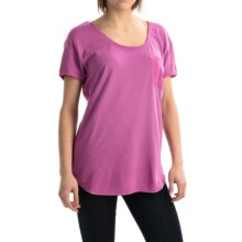 Agave Norina Stripe T-Shirt - Short Sleeve (For Women) in Radient Orchid - Overstock