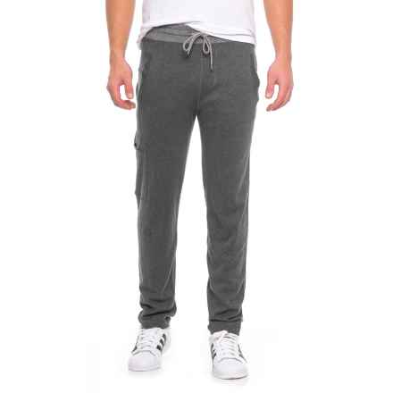 Agave O'Connell Supima® Cotton Drawstring Pants (For Men) in Ag-Charcoal - Closeouts