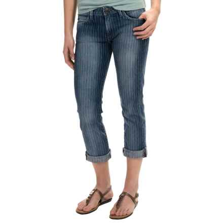 Agave Paloma Stretch Classic Crop Jeans - Mid Rise (For Women) in Jewel Box - Overstock
