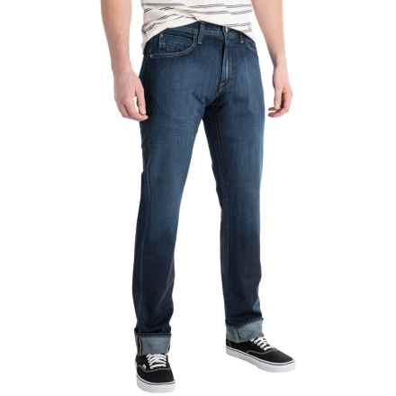 Agave Pragmatist Classic Fit Jeans - Straight Leg (For Men) in Sandspit Supima Dark - Closeouts