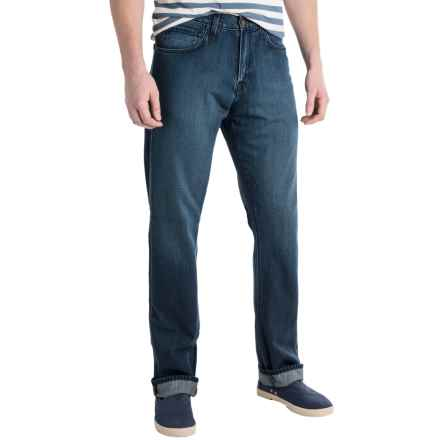 Agave Pragmatist Classic Fit Jeans - Straight Leg (For Men) in Sandspit Supima Med - Closeouts