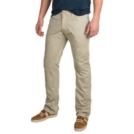 Agave Pragmatist Sateen Khaki Oxford Pants - Classic Fit, Straight Leg (For Men) in Khaki Oxford Tan - Closeouts