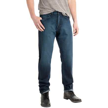 Agave Rocker Classic Fit Jeans - Tapered Straight Leg (For Men) in Belfort Indigo Dark - Closeouts