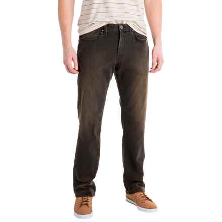 Agave Rocker No. 11 Jeans - Straight Leg (For Men) in Dark Chocolate - Closeouts