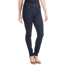 Agave Verona Curvy Cut 10 oz. Denim Jeans - Skinny Leg (For Women) in Gemstones Stretch - Closeouts