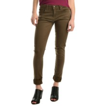 Agave Verona Curvy Skinny Jeans - High Rise (For Women) in Beech - Overstock