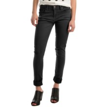Agave Verona Curvy Skinny Jeans - High Rise (For Women) in Caviar Black - Overstock