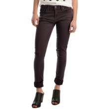 Agave Verona Curvy Skinny Jeans - High Rise (For Women) in Dark Plum - Overstock