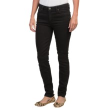 Agave Verona Skinny Jeans - Curvy Cut (For Women) in Basalt Stretch - Closeouts