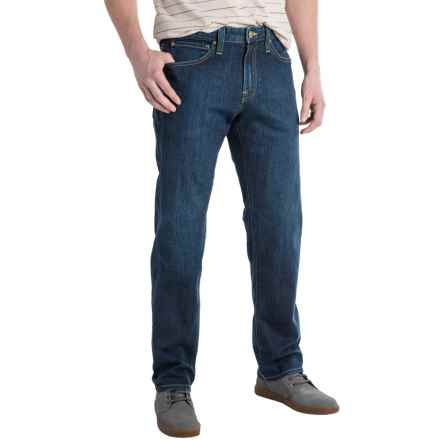 Agave Waterman Relaxed Fit Jeans - Straight Leg (For Men) in Sandspit Supima Dark - Closeouts