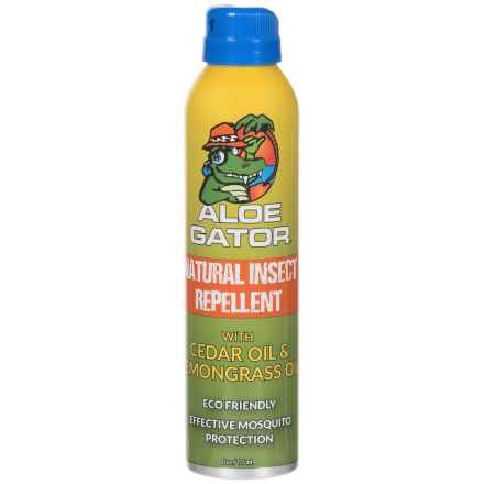 AGS Aloe Gator Natural Insect Repellent Spray - 6 oz. in See Photo - Closeouts