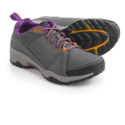 Ahnu Alamere Low Hiking Shoes - Waterproof, Leather (For Women) in Granite - Closeouts
