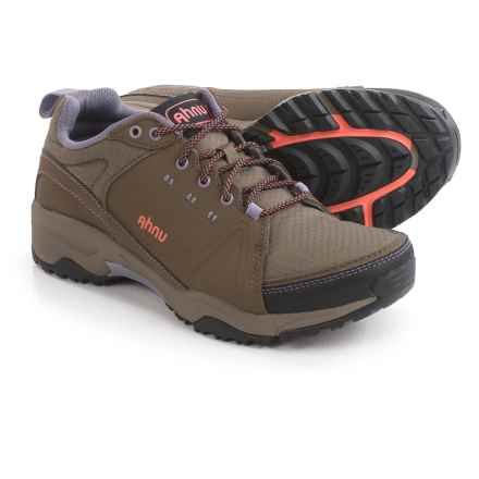 Ahnu Alamere Low Hiking Shoes - Waterproof, Leather (For Women) in Muir Woods - Closeouts