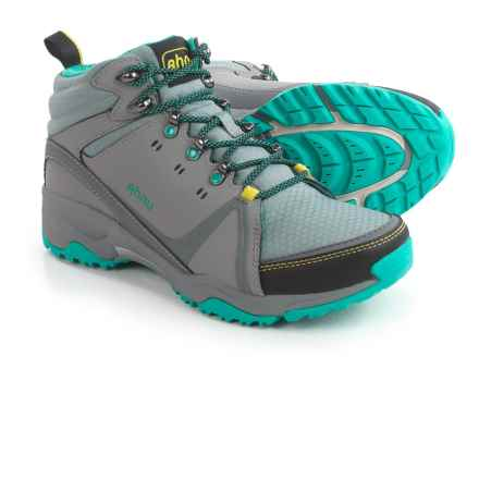 Ahnu Alamere Mid Leather Hiking Boots - Waterproof (For Women) in Medium Grey - Closeouts