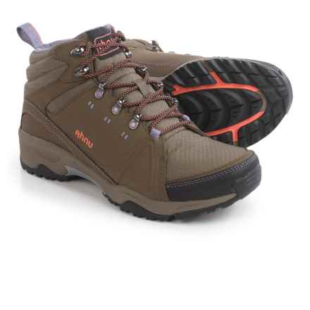 Ahnu Alamere Mid Leather Hiking Boots - Waterproof (For Women) in Muir Woods - Closeouts