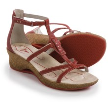Ahnu Alta Leather Sandals (For Women) in Bossa Nova - Closeouts