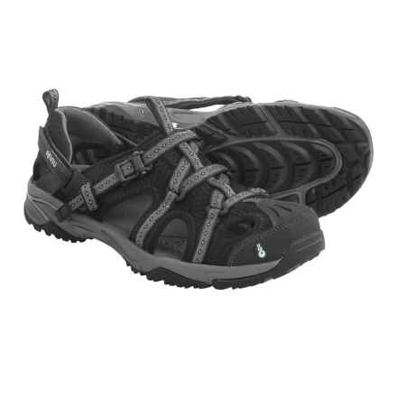 Ahnu Anza Sport Sandals (For Women) in Black - Closeouts