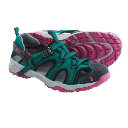 Ahnu Anza Sport Sandals (For Women) in Tropical Teal - Closeouts