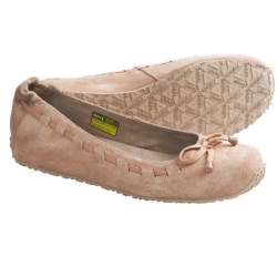 Ahnu Arabesque Ballet Flats (For Women) in Rugby Tan
