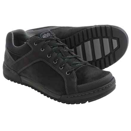 Ahnu Balboa Sneakers - Suede (For Men) in New Black - Closeouts