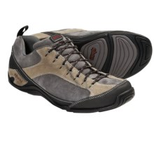 Ahnu Belgrove Shoes - Leather (For Men) in Charcoal Grey - Closeouts