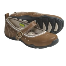 Ahnu Bennie Mary Jane Shoes - Leather (For Women) in Sepia - Closeouts