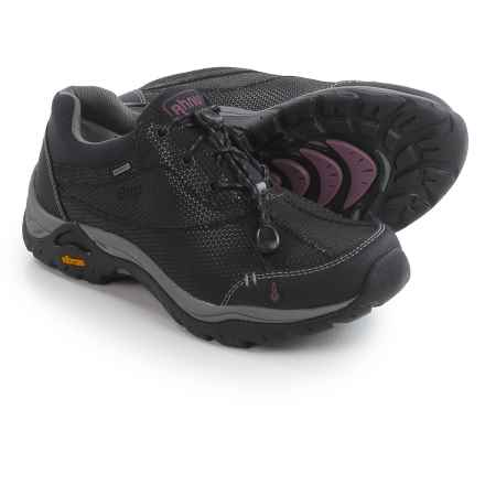 Ahnu Calaveras Hiking Shoes - Waterproof, Leather (For Women) in Black - Closeouts