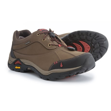Ahnu Calaveras Hiking Shoes - Waterproof, Leather (For Women) in Muir Woods