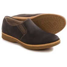 Ahnu Clay Nubuck Shoes - Slip-Ons (For Men) in Porter - Closeouts