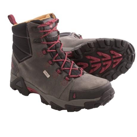 Ahnu Coburn Hiking Boots - Waterproof (For Men) in Pewter