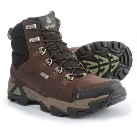 Ahnu Coburn Hiking Boots - Waterproof, Leather (For Men) in Porter - Closeouts