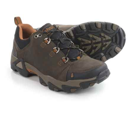 Ahnu Coburn Low Hiking Shoes - Nubuck (For Men) in Bunker Green - Closeouts
