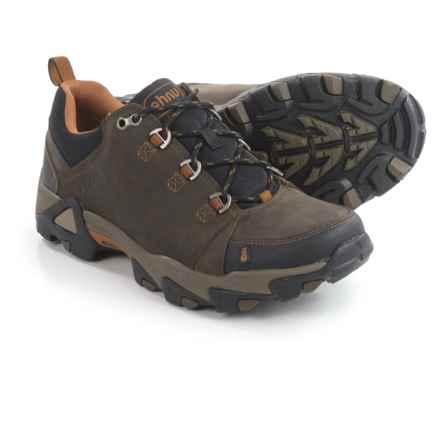 Ahnu Coburn Low Hiking Shoes - Nubuck (For Men) in Bunker Green - Closeouts