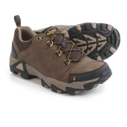 Ahnu Coburn Low Hiking Shoes - Nubuck (For Men) in Sahara - Closeouts