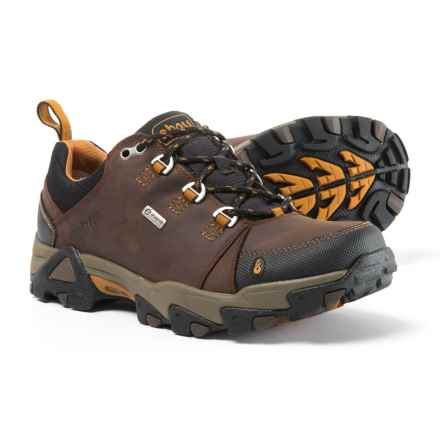 Ahnu Coburn Low Hiking Shoes - Waterproof, Leather (For Men) in Porter - Closeouts