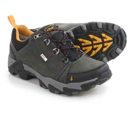 Ahnu Coburn Low Hiking Shoes - Waterproof, Nubuck (For Men) in Steel Grey - Closeouts