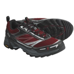 Ahnu Corso Trail Running Shoes (For Men) in Chili Pepper