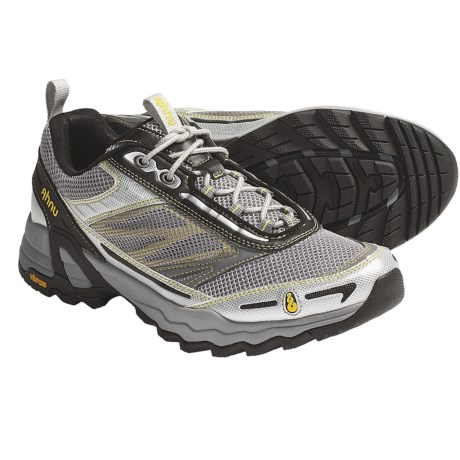 Ahnu Corso Trail Running Shoes (For Men) in Medium Grey