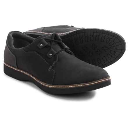 Ahnu Cortland Shoes - Leather (For Men) in Black - Closeouts
