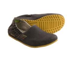 Ahnu Cruz Vegan Shoes - Canvas, Slip-Ons (For Men) in Charcoal Grey Vegan - Closeouts