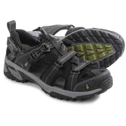 Ahnu Del Rey Sport Sandals (For Men) in Black - Closeouts
