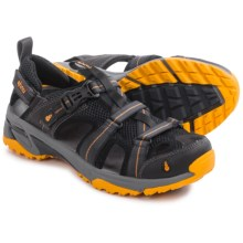 Ahnu Del Rey Sport Sandals (For Men) in Carbon - Closeouts