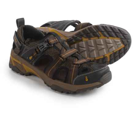 Ahnu Del Rey Sport Sandals (For Men) in Smokey Brown - Closeouts
