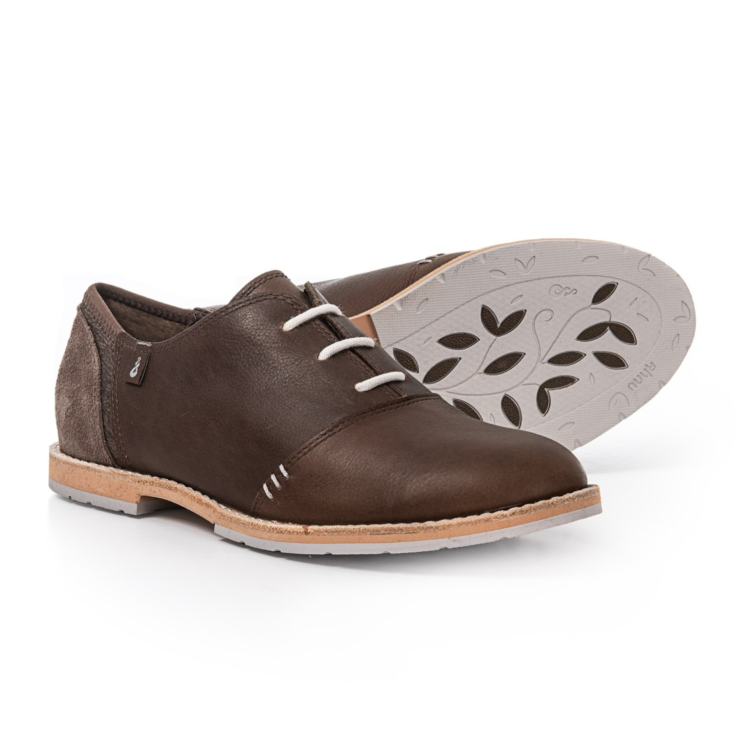 84f11499d5 Ahnu Emery Leather Oxford Shoes (For Women) - Save 42%