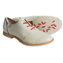 Ahnu Emery Shoes - Leather (For Women) in Stone White - Closeouts